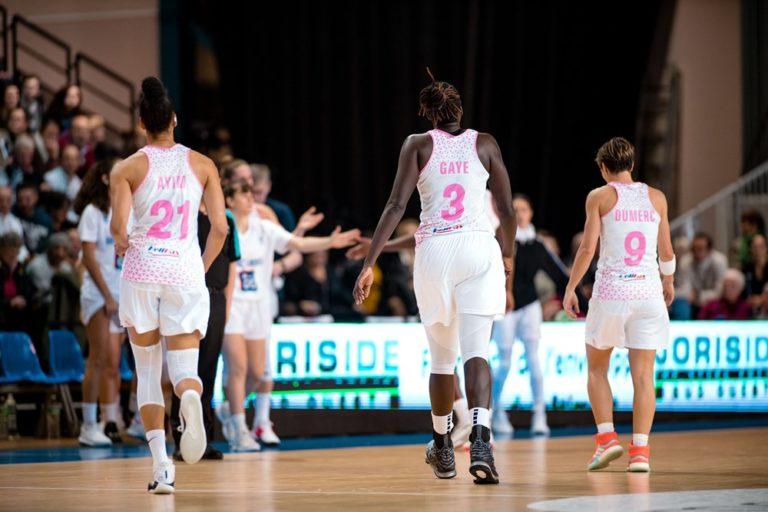 Basket Landes vs DVTK Miskolc en Eurocup 2019-20
