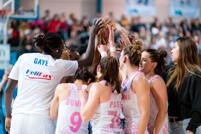 Basket Landes vs Ormanspor en 1/8 de finale de l'Eurocup 2019-20