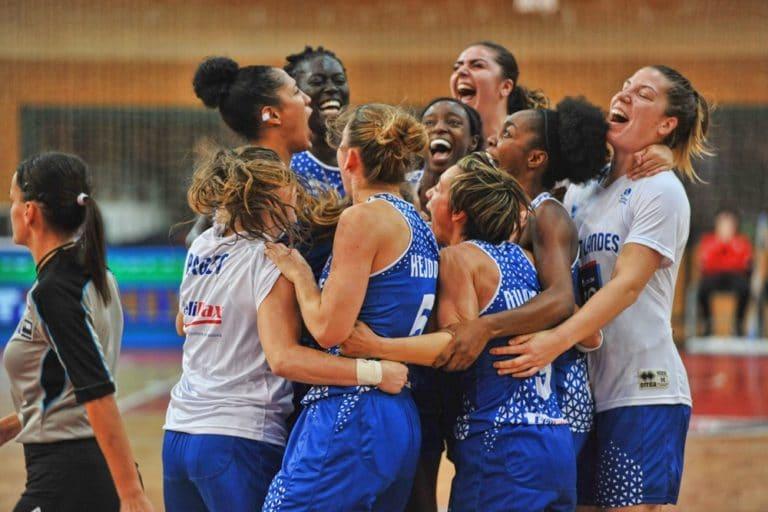 Basket Landes l'emporte grâce à un buzzer beater sur le terrain du DVTK Miskolc en Eurocup 2019-20