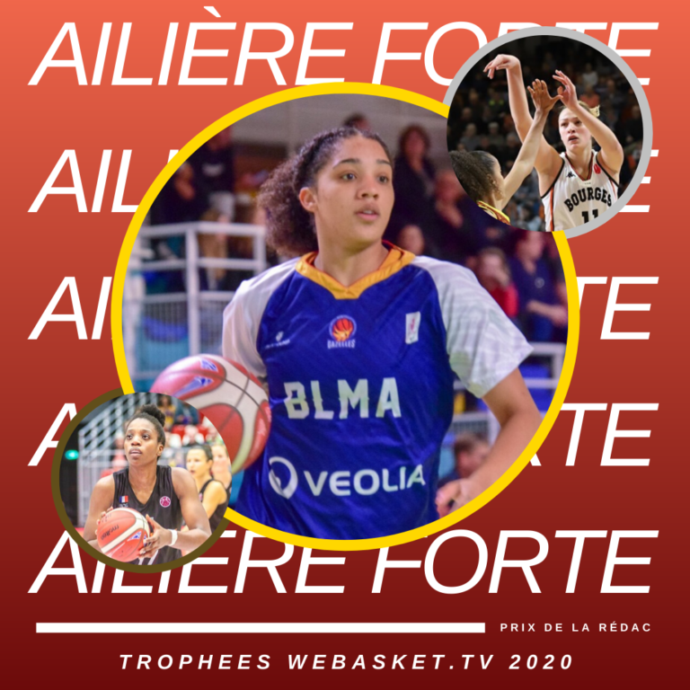 gabby williams elue ailiere forte de la saison 2019-2020 de lfb par la redaction