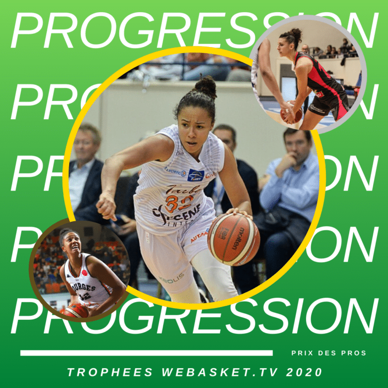 Pour les Pros de LFB, c'est Tima Pouye qui est la MIP 2020, avec 58 pts sur 138 possibles, devant Laëtitia Guapo (45 pts) et Iliana Rupert (33 pts) - s