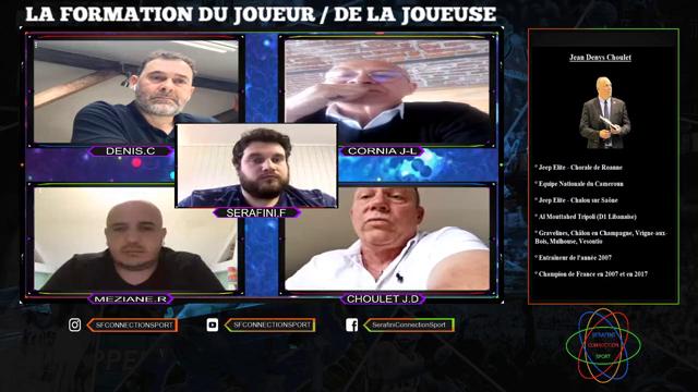 Echanges sur formation du joueur(se) avec Jean-Denys CHOULET et Rachid MEZIANE