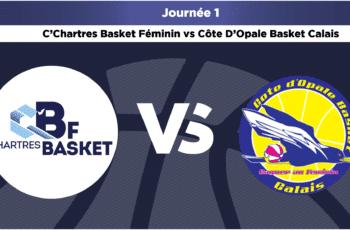 live c chartres basket feminin vs cob calais lf2 2020 2021