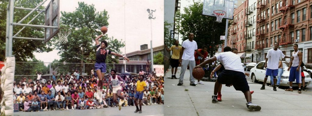 streetball origine du basket 3x3