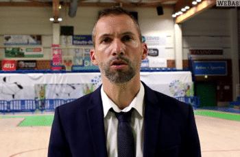 fabrice fernandes apres saint amand hainaut basket - esbva lille metropole en octobre 2020